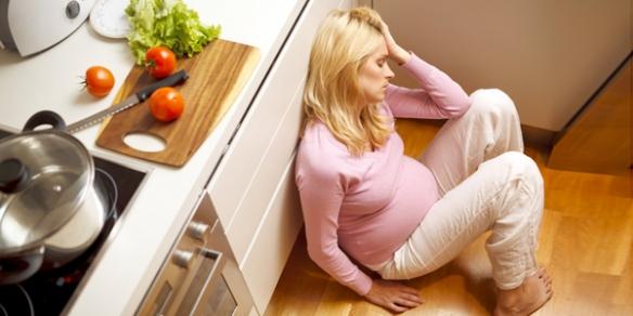 Депрессия во время беременности, как одна из опасностей для женщины